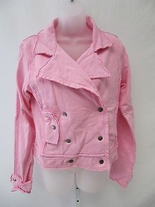 Womens Hard Tail Double Pink Jacket