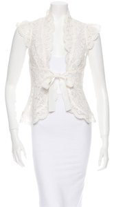 Tracy Reese Lace Top Cream