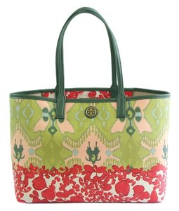 Tory Burch Kerrington Kerrington Geometric/flowers Tote in Multi Color