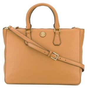 Tory Burch Satchel in tigers eye