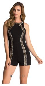 bebe Romper Studded Dress