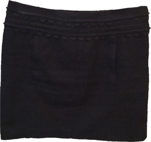 Tory Burch Mini Skirt Blac