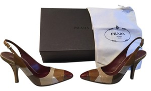 Prada Multi color Pumps