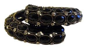Real Collectibles by Adrienne Real Collectibles by Adrienne Domed Bypass Design Hinged Cuff