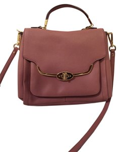 Coach Satchel in Rouge
