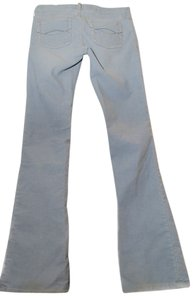 Abercrombie & Fitch Low Rise Form Fit Flare Leg Jeans-Light Wash