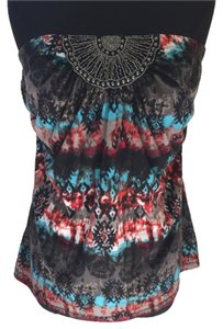 Maurices Top Blue/Red/Black