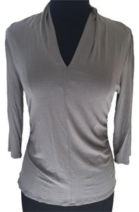 Vince Camuto Top Grey