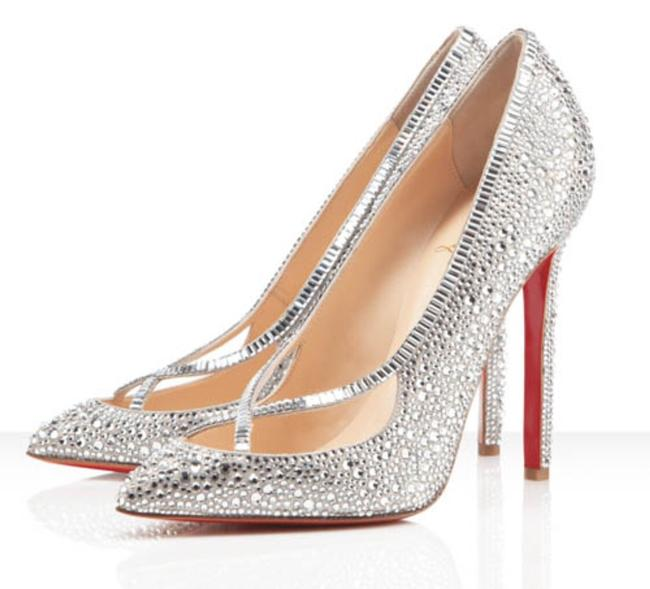 Item - Silver Super Vic Pumps Size US 6.5 Regular (M, B)