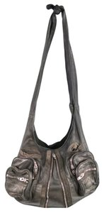 Alexander Wang Distressed Edgy Donna Tie Iconic Hobo Bag