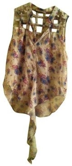 Preload https://item3.tradesy.com/images/millau-floral-blouse-size-4-s-662-0-0.jpg?width=400&height=650