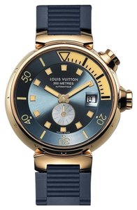 Louis Vuitton Limited Edition Louis Vuitton ROSE PINK GOLD Tambour Diving Automatic Watch 44mm