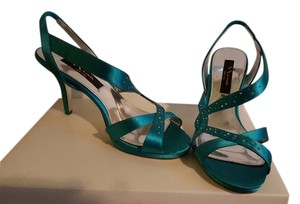 Nina Shoes Turquoise Formal