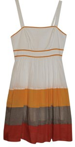 Jessica Simpson short dress Yellow color-block Color-blocking on Tradesy