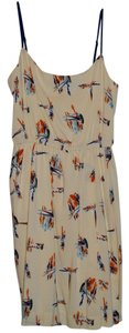 Antonio Melani short dress Multi-colored, beige on Tradesy
