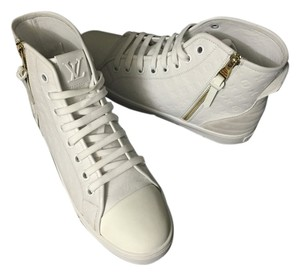 Louis Vuitton Punchy Sneaker High Top Sneaker Punchy Sneaker Boot High Top White Athletic