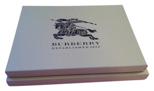 Burberry 2 Burberry boxes 13.5 x 10 and 12.5 x 9.5