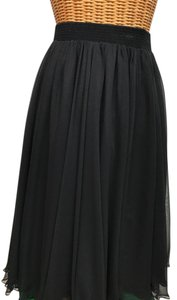 Ann Hobbs for Cattiva Lined Flow Skirt black
