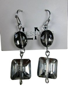 Other Beautiful silver glass earrings