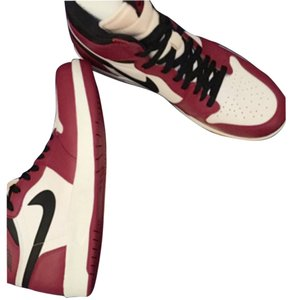 Nike Red & white and black Athletic