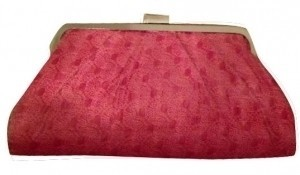Chinese Laundry Easter Silver Pattern pink Clutch