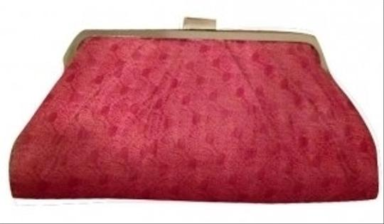 Preload https://item2.tradesy.com/images/chinese-laundry-easter-silver-pattern-pink-leather-clutch-6626-0-0.jpg?width=440&height=440