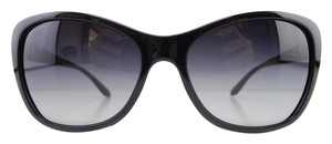 BVLGARI New BVLGARI Sunglasses 8127-B 901/8G Black Gradient Acetate Full-Frame 57mm Italy