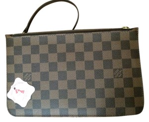 Louis Vuitton Louis Vuitton Neverfull GM MM Damier Ebene Pochette Clutch
