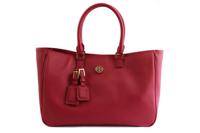 Item - Bag Roslyn Red Leather Tote