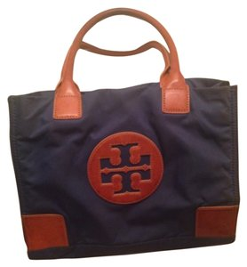 Tory Burch Satchel in Blue Beige