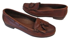 Dexter Size 7.50 Good Condition Brown Flats