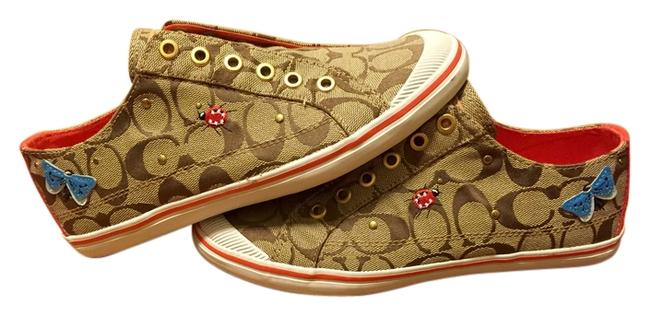 Item - Tan One Of A Kind Sneakers Size US 7.5 Regular (M, B)