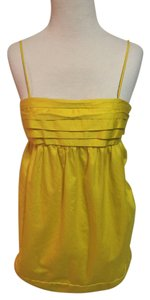 French Connection short dress Yellow Spaghetti Strap Bow on Tradesy
