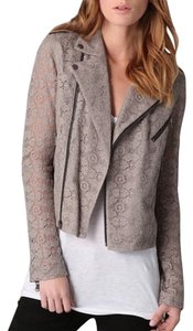Rebecca Minkoff Lace Moto Motorcycle Motorcycle Jacket
