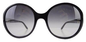 BVLGARI New BVLGARI Sunglasses 8108-B 501/8G Black Gradient Acetate Full-Frame 57mm Made in Italy