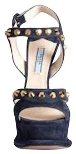 Prada Platform Studded Redbottoms Strappy Gifts For Her Wedges