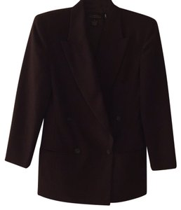 LNR for Nordstrom Dark Brown Blazer