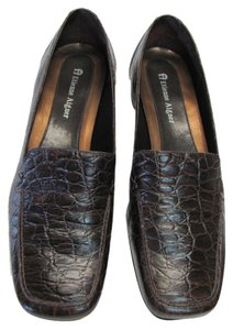 Etienne Aigner Leather Reptile Design Very Good Condition Size 6.00 M Pumps