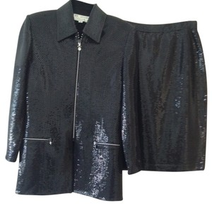 St. John St. John Skirt and Jacket with all over paillettes