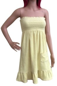 Juicy Couture short dress Yellow Summer on Tradesy
