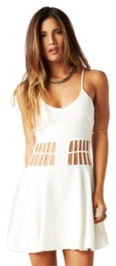 Dress the Population Cut-out Strappy Dress