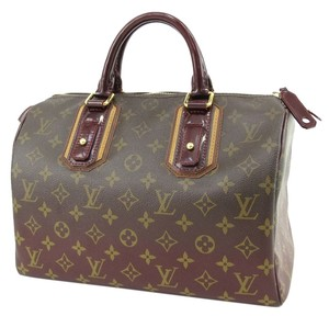 Louis Vuitton Satchel in Monogram Mirage, Bordeaux