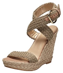Stuart Weitzman Alex Wedge Sandals Swamp Wedges