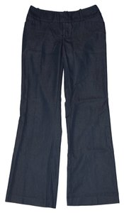 Mossimo Supply Co. Dress Stretchy Comfortable Navy Trouser Pants Looks like dark Denim
