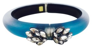 Alexis Bittar Alexis Bittar Blue Ombre Hinged Lucite Bracelet
