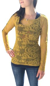 Ella Moss Top Yellow