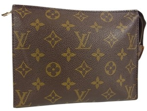 Louis Vuitton Auth LOUIS VUITTON M47544 Monogram Poche Toilette 19 Cosmetics Pouch