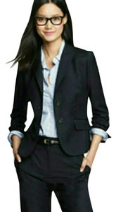 Emanuel Ungaro Black with Pinstripes Blazer