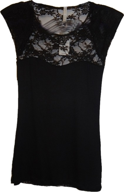 Preload https://item2.tradesy.com/images/black-with-full-lace-night-out-top-size-8-m-6657961-0-0.jpg?width=400&height=650
