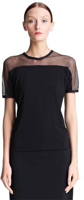 Preload https://img-static.tradesy.com/item/6657979/lida-baday-black-3-fitted-mesh-yoke-crepe-jersey-sm-tee-shirt-size-6-s-0-0-650-650.jpg